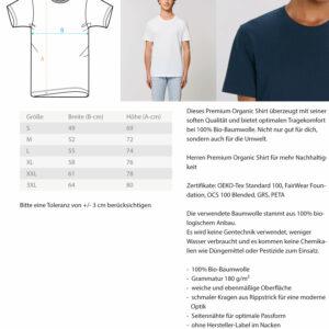 Herren Premium Organic Shirt