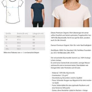 Damen Premium Organic Shirt