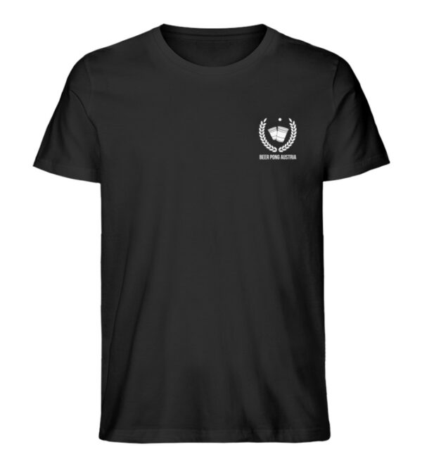 Signature Shirt Beer Pong Austria - Herren Premium Organic Shirt-16